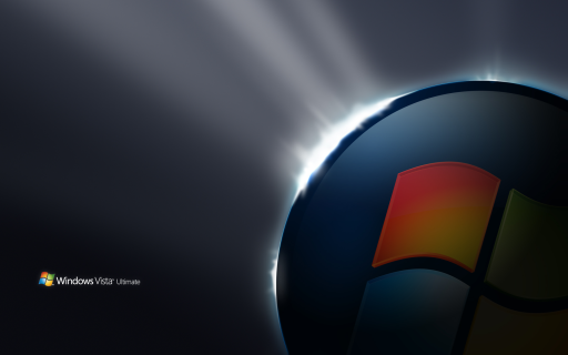 Vista Ultimate Start wallpaper by Microsoft